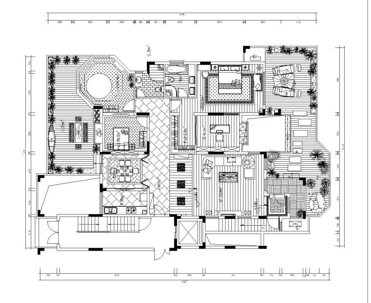 [广州]东南亚风格两层别墅内部装修设计(附效果图)