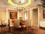 上海欧式三层庄园别墅室内设计施工图(含效果图)