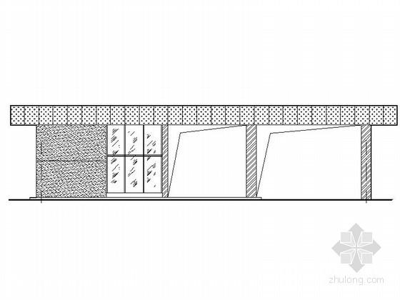 [合集]24套大门建筑施工图(学校、接待中心、公司大门、欧式)_25