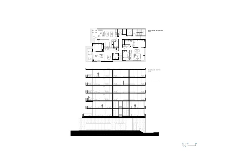 澳大利亚22套独特混合公寓剖面图 (15)