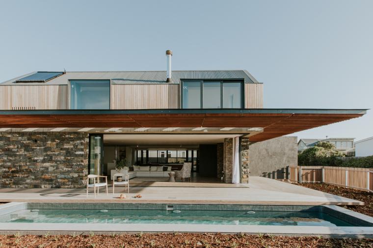 南非海岸线传统的独户家庭住宅-6