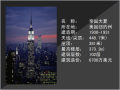 紐約帝國大廈建筑匯報PPT