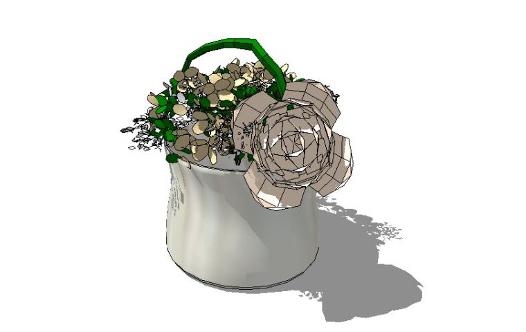 500个室内植物盆栽|花瓶摆件|SU模型合集(1)