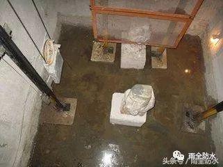 电梯井渗漏水堵漏施工解决方案