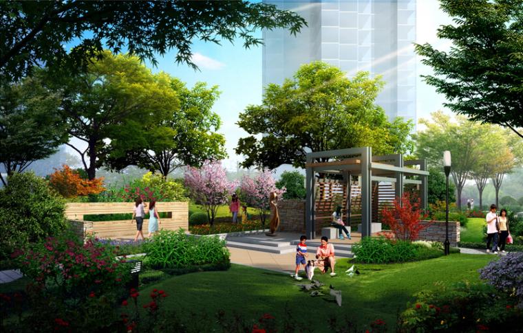 [陕西]西安生态主义社区景观设计方案