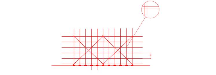 砖混结构住宅建筑单排脚手架施工方案