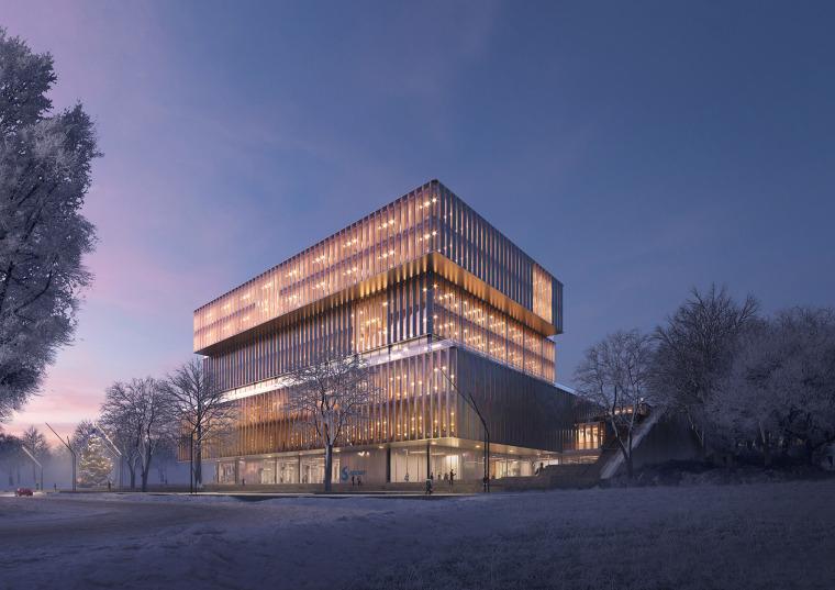 比利时可持续的Solvay国际办公总部-6