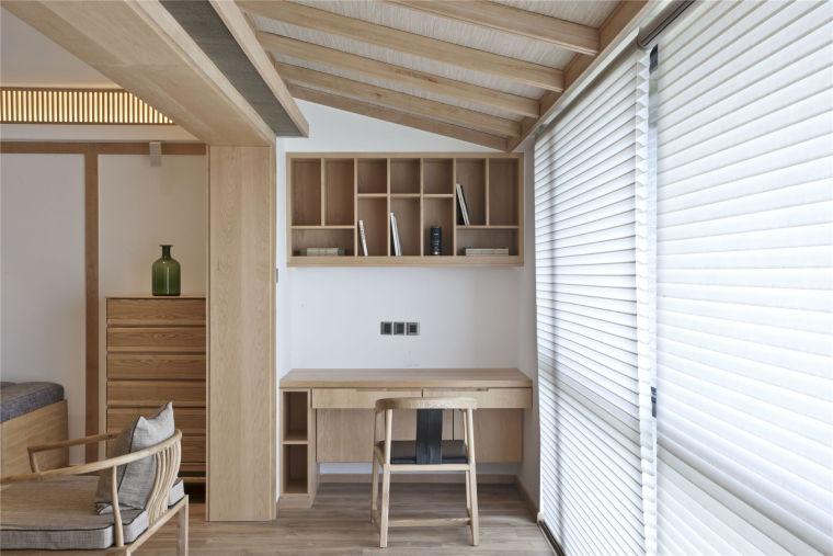简单自然的中式风格住宅室内实景图 (14)