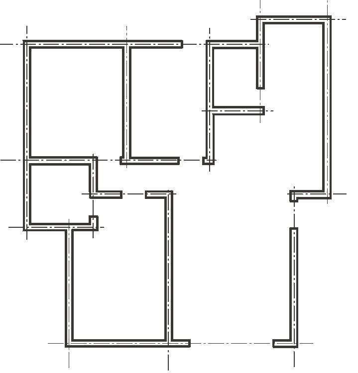 建筑识图与AutoCAD之十四建筑CAD制备实例(141页)
