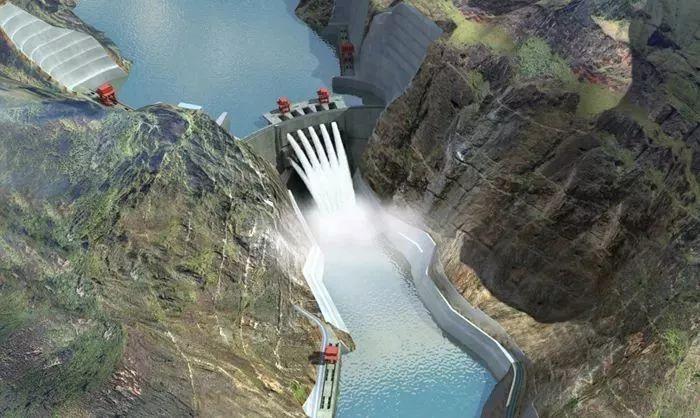 搬迁可行性研究报告资料下载-金沙江上的四大水电工程,第三溪洛渡工程!