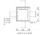 用增大截面法对钢筋混凝土框架节点进行抗震加固