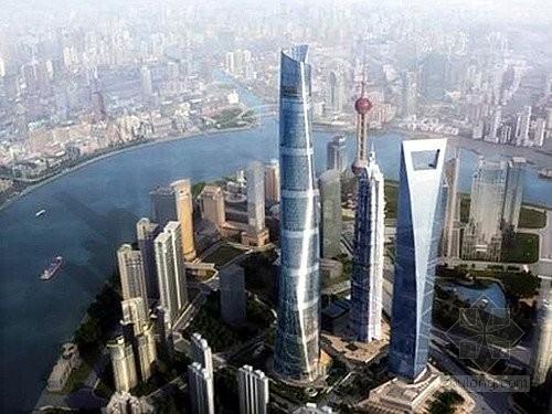 [上海]632米巨型框架核心筒外伸臂结构国内最高楼结构施工图