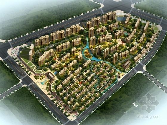 [深圳]欧式风格高档住宅区及单体建筑设计方案文本(含CAD)