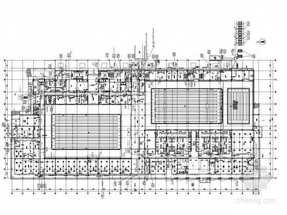 [江苏]体育中心游泳馆强电系统施工图纸(含负荷计算及原理图)