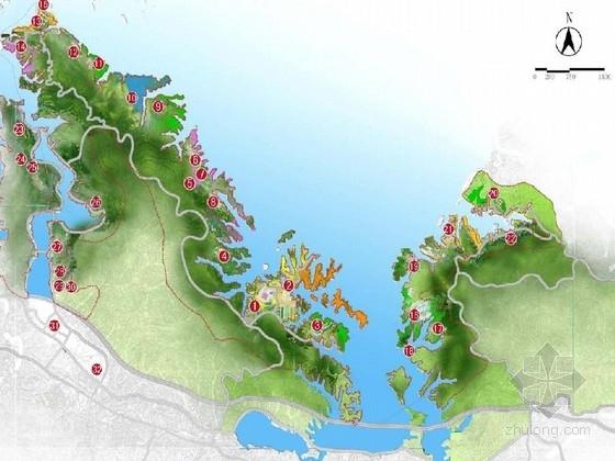 [湖北]水享天城国际养生休闲度假区设计方案