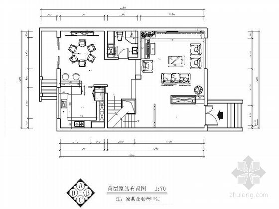 [北京]纯欧式半山建筑群高端三层别墅室内装修施工图