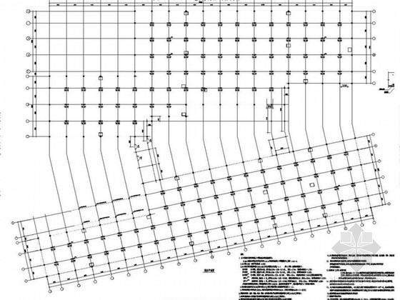上海地下车库结构施工图(2014.3月出图)