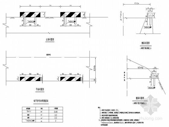 道路工程交通安全设施护栏设计通用图74张