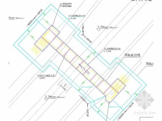 iv型钢板桩施工方案资料下载-人行通道基坑拉森钢板桩支护施工图(含计算书)