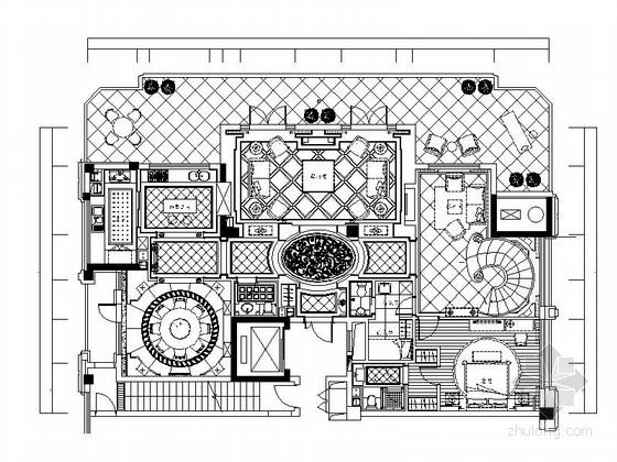 [浙江]酒店式公寓跃层样板房装修设计图(含实景)