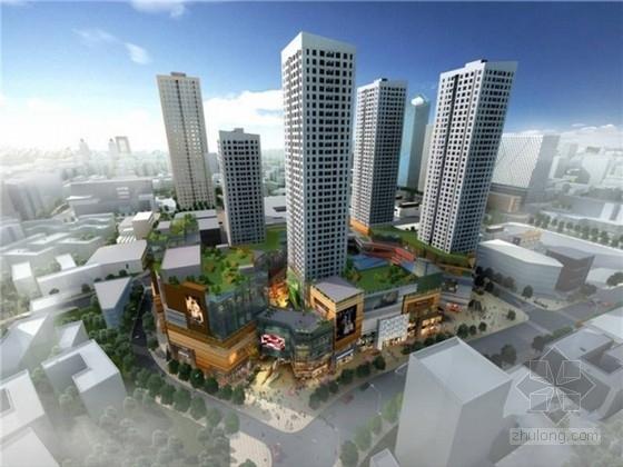 [四川]70万平多种结构形式城市综合体结构施工图(含超高层建筑、地下三层车库)