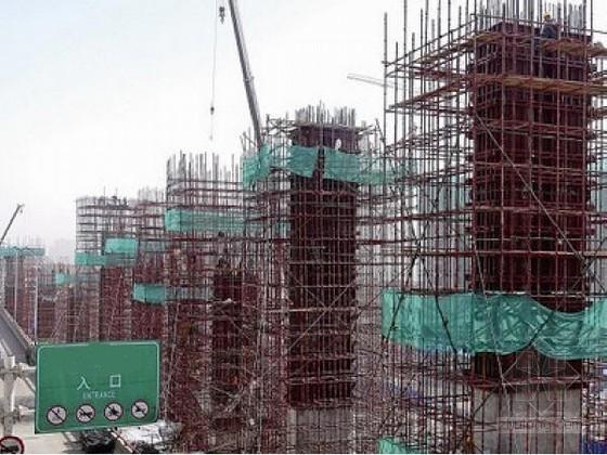 [山东]直径1.3米墩柱首件施工方案19页(大型装配式钢模)