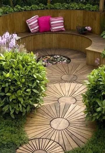 屋顶花园要用到防腐木吧??