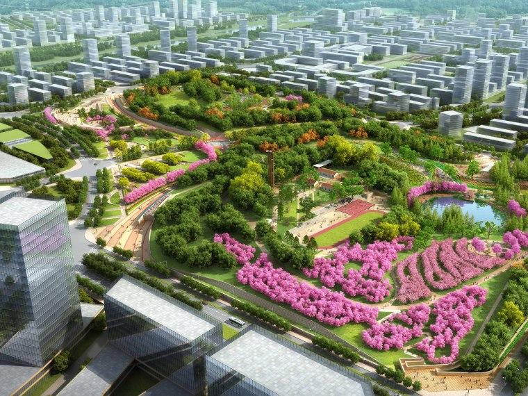 [安徽]含山县山体高差森林公园修建性详细规划设计