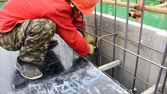 混凝土模板与保温层结合,FS外墙保温板施工工法