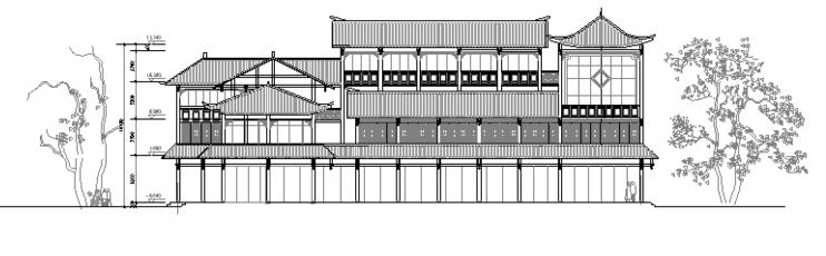 民居式客栈初步设计图