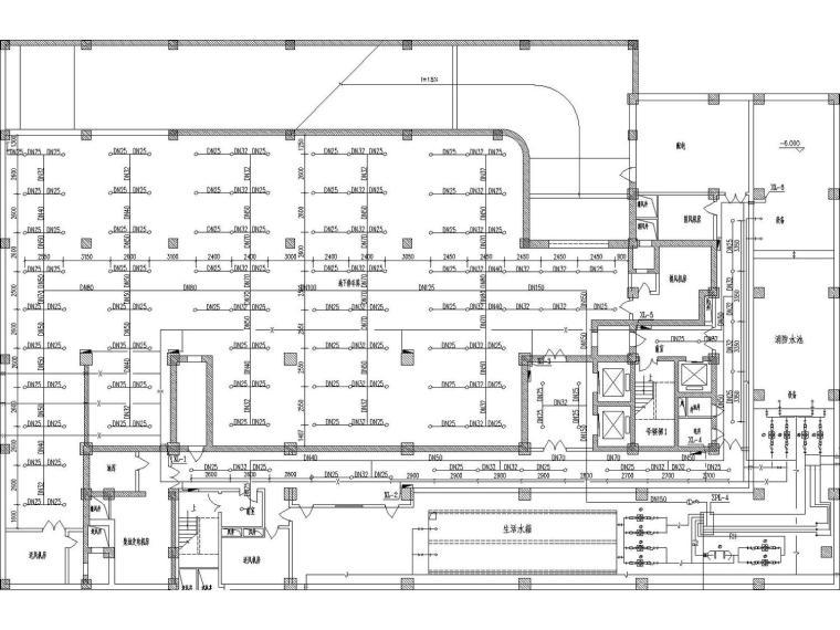 [河南]建筑给排水专业毕业设计(附多张系统图、大样图)