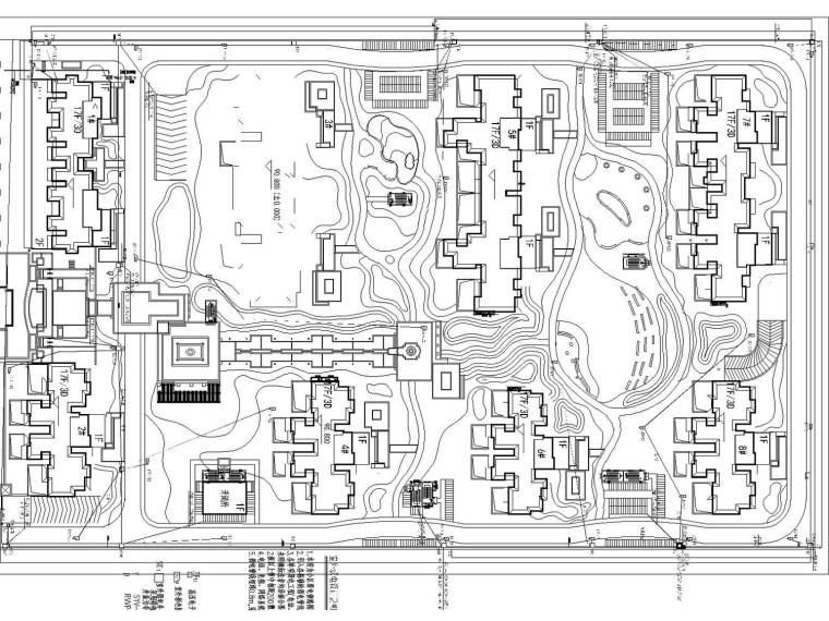 [河南]郑州迎宾墅苑8栋楼17层建筑智能化电气设计图纸(带电梯五方通话系统、周界防范系统)