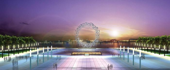 [福建]海洋文化生态自然滨水环湖景观规划设计方案