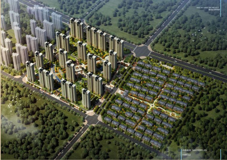 [河北]高层新古典风格一梯四户住宅建筑设计方案文本