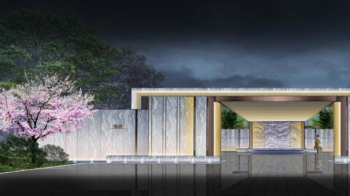 [浙江]未来城展示区新中式风格景观方案设计文本(包含PDF+51页)