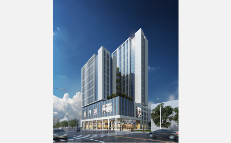 [广西]北海市中房新家园商业综合体建筑设计文本