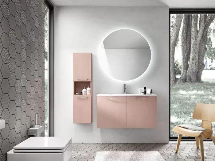 6种卫生间瓷砖铺贴风格!