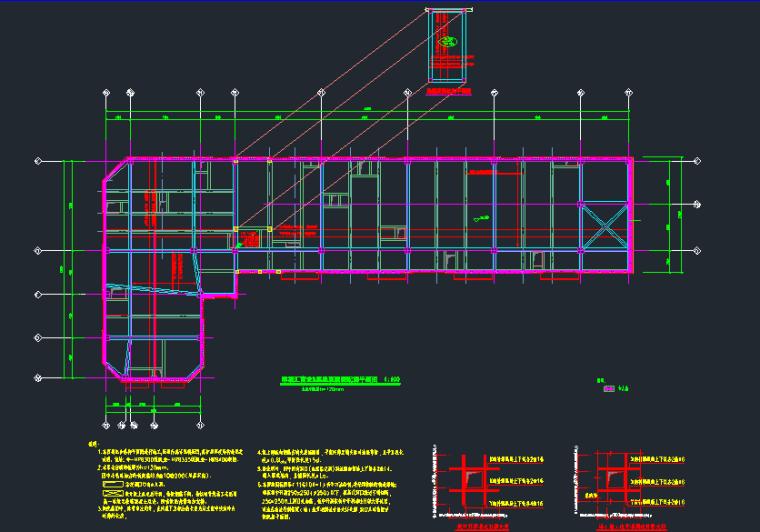 25层华润框架核心筒商业办公楼结构施工图_5