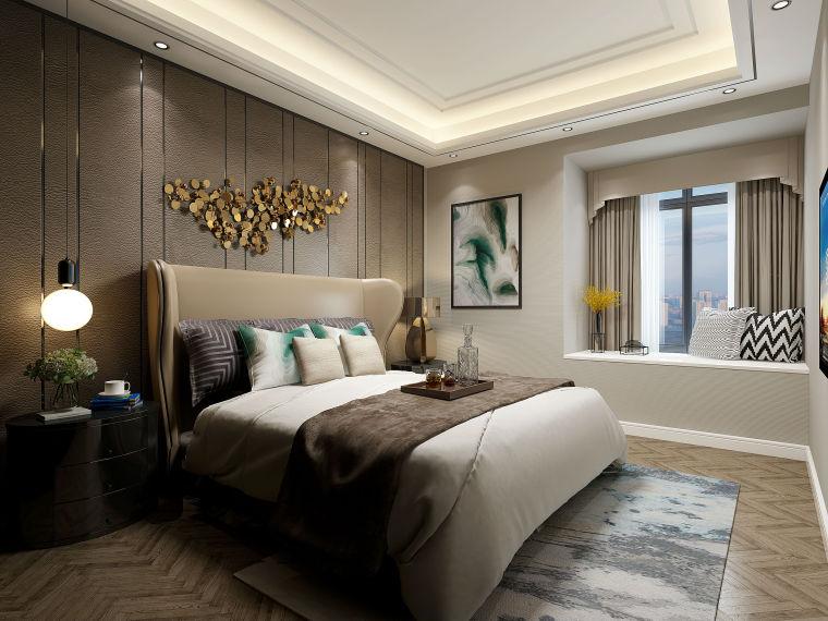 成都骑士府邸103.5平米现代简约装修,造价15万