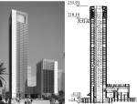 佛山保利商务中心结构设计与分析
