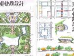 滨水景观空间手绘快题设计30例