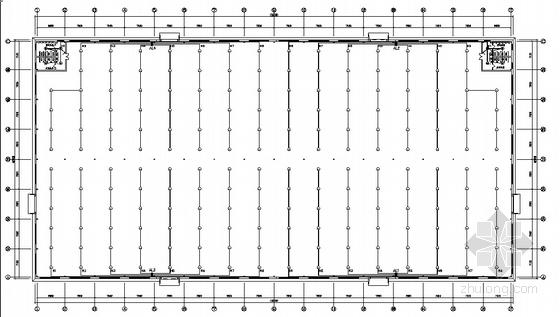 香河某家具公司样品车间厂房电气设计图
