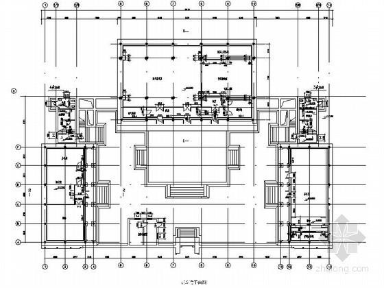某古建筑室内装饰设计节点详图