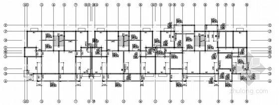 [江西]砖混结构住宅楼结构施工图(六层 桩基础)