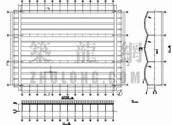 装甲车钢结构停车棚