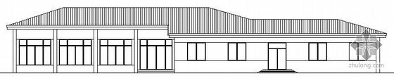 某钢结构食堂建筑方案图