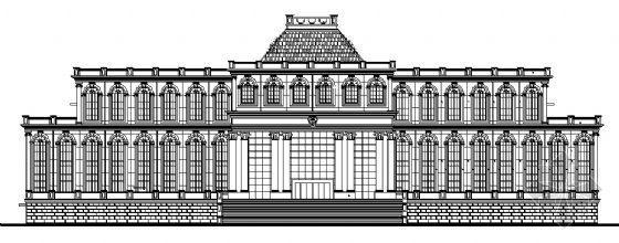 某法院建筑方案图