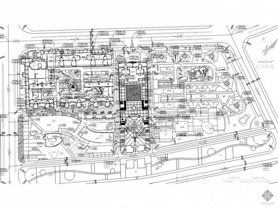 [南阳]某十九层酒店总平面图(含效果图)
