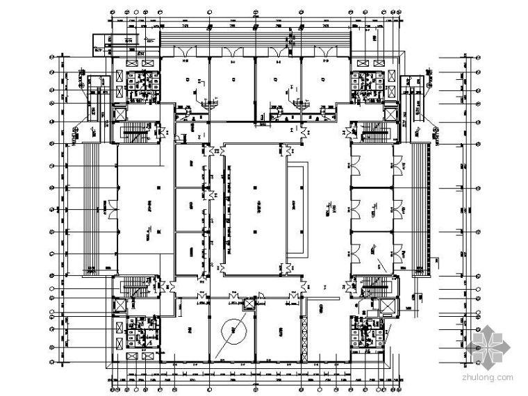 科研中心楼外窗工程投标设计图