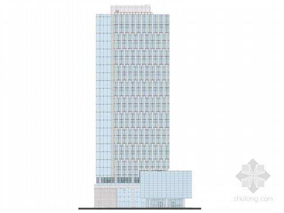 [上海]知名企业高层办公楼建筑设计方案文本(知名设计院)